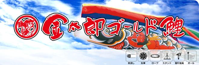徳永鯉のぼり金太郎ゴールド鯉