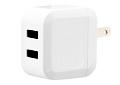 AC充電器 USB-A 2ポート 高速充電対応