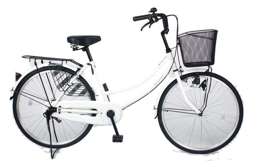 シティーサイクル 【MC266】 シティサイクル 26インチ シマノ製6段ギア付き ママチャリ じてんしゃ 2018年新型 折りたたみ自転車 ママチャリ 【送料無料】 本体