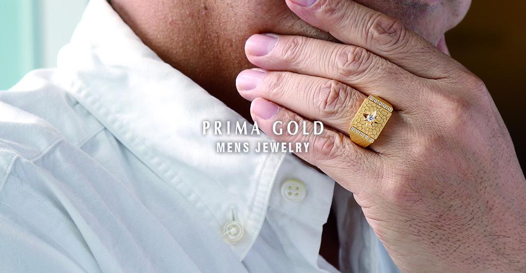 PRIMA GOLD MENS JEWELRY - 24K純金メンズジュエリー