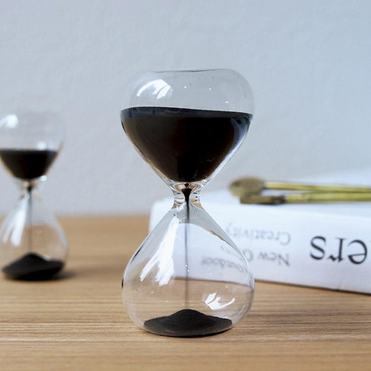 ハイタイドで人気の砂時計 存在感のある大きめサイズ