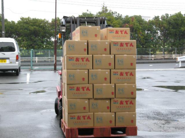 VACEL (バセル) 鶏砂肝角切りレトルト 50g - 9. 箱詰めされ、出荷室に移動します。