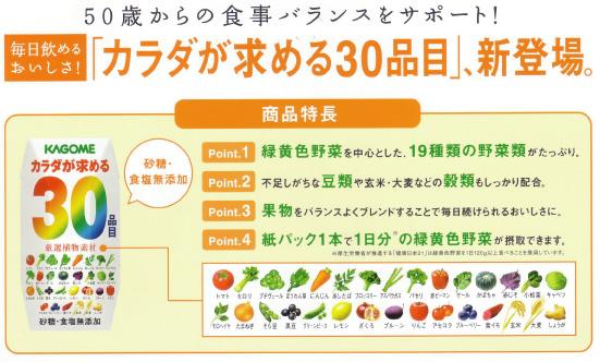 食事バランスをサポート