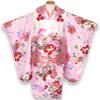 七五三着物 3歳 女の子 被布コートセット(正絹)