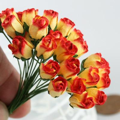 バラつぼみ造花