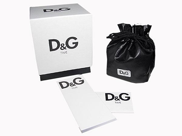 D&G ドルチェ&ガッバーナ 腕時計 クロノグラフ サンドパイパー 3719770123 付属品