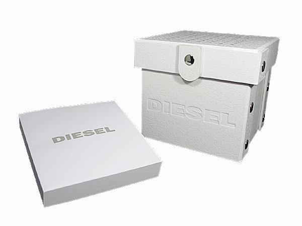 ディーゼル DIESEL フランチャイズ FRANCHISE 腕時計 DZ1437 メンズ レディース オールブラック ラバーベルト 付属品
