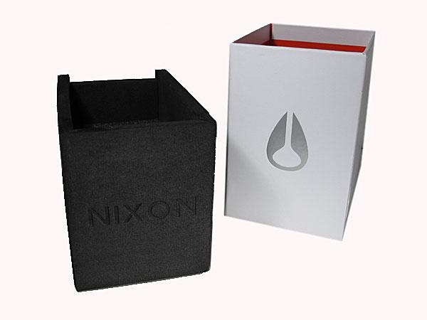 ニクソン NIXON 腕時計 キャノン CANNON A160-000 BLACK 付属品
