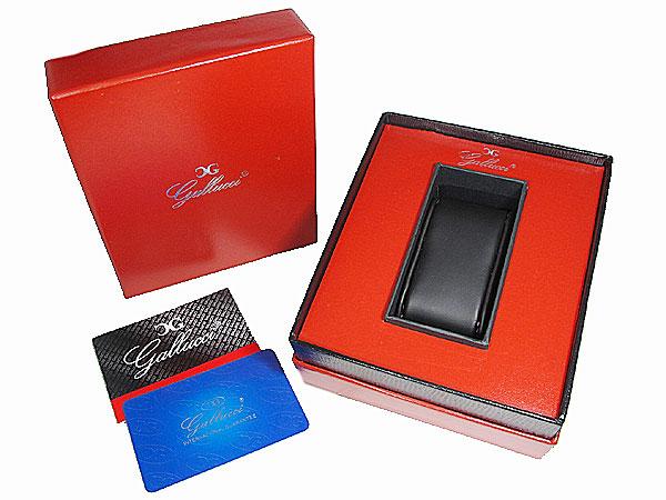 GALLUCCI UNI ガルーチ ユニ ストーン 腕時計 アルミ WT23451QZ-PU レディース メンズ パープル 付属品