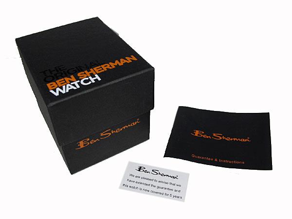 ベンシャーマン Ben Sherman 腕時計 メンズ R77903 付属品