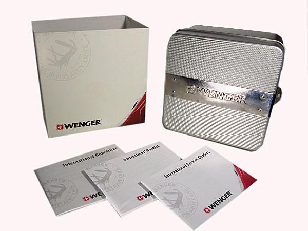 ウェンガー WENGER コマンド クロノグラフ 腕時計 70724XL 付属品