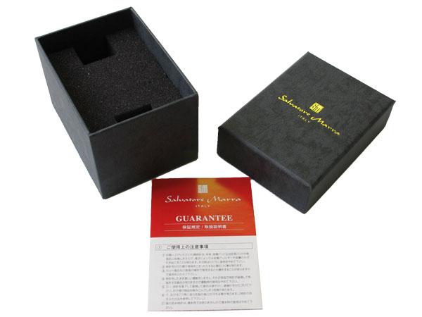 サルバトーレマーラ 腕時計 クロノグラフ メンズ SM7019-PGBK 付属品