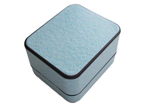 セイコー SEIKO 逆輸入 クロノグラフ メンズ 腕時計 SND365 ネイビーブルー×シルバー メタルベルト 付属品