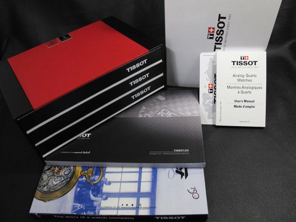 ティソ TISSOT 腕時計 メンズ 自動巻き クロノグラフ T055.427.16.017.00 付属品