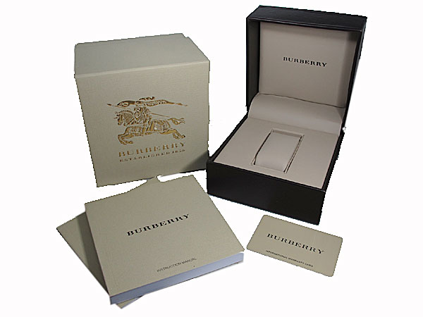 バーバリー BURBERRY 腕時計 スイス製 メンズ BU9006 付属品