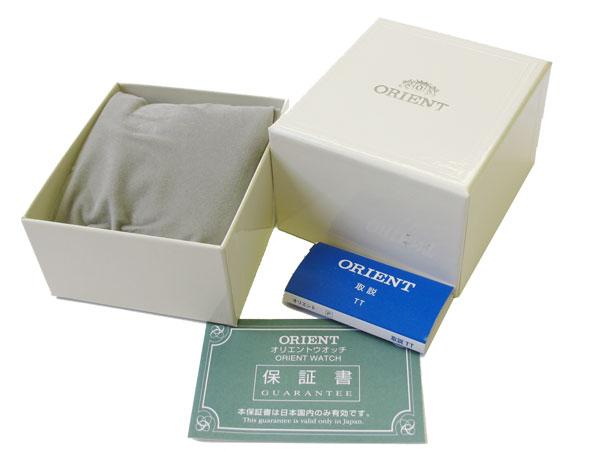 オリエント ORIENT 自動巻き レディース 腕時計 WV0031NB ゴールド×ピンク レザーベルト 付属品