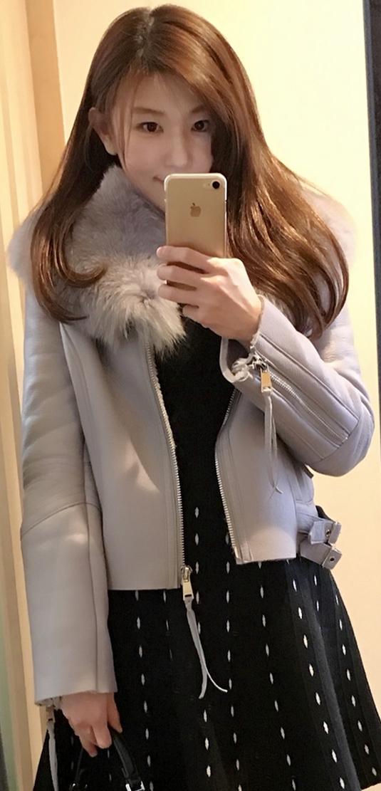 毛皮コートかす姫
