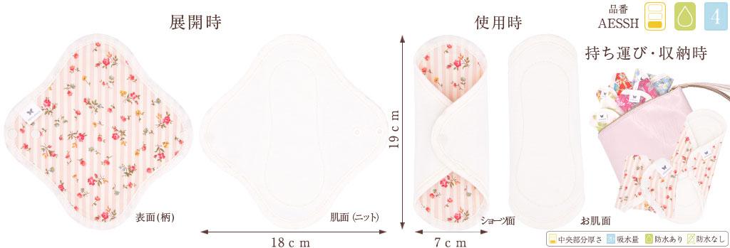 エニュアンス 布ナプキン サイズ感と収納方法