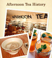 Afternoon Tea History