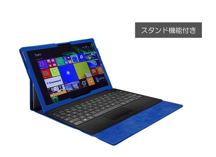 Surface 3 手帳型 レザーケース