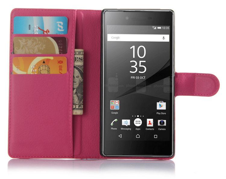 xperia Z5 Premium 手帳 ケースレザー