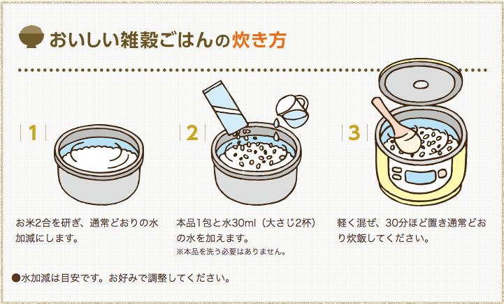 焙煎ごぼう入り国産十八穀米4