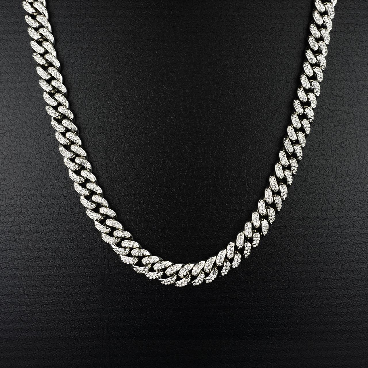 銀の太いネックレス(PROPRE3450)