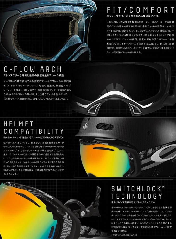 77aac0f4bb1 Oakley Ski Goggles Flight Deck Asian « Heritage Malta