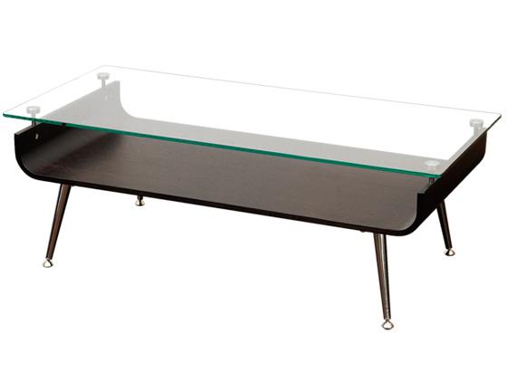 ガラストップ センターテーブル