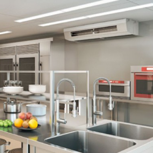 厨房用天吊り形業務用エアコン