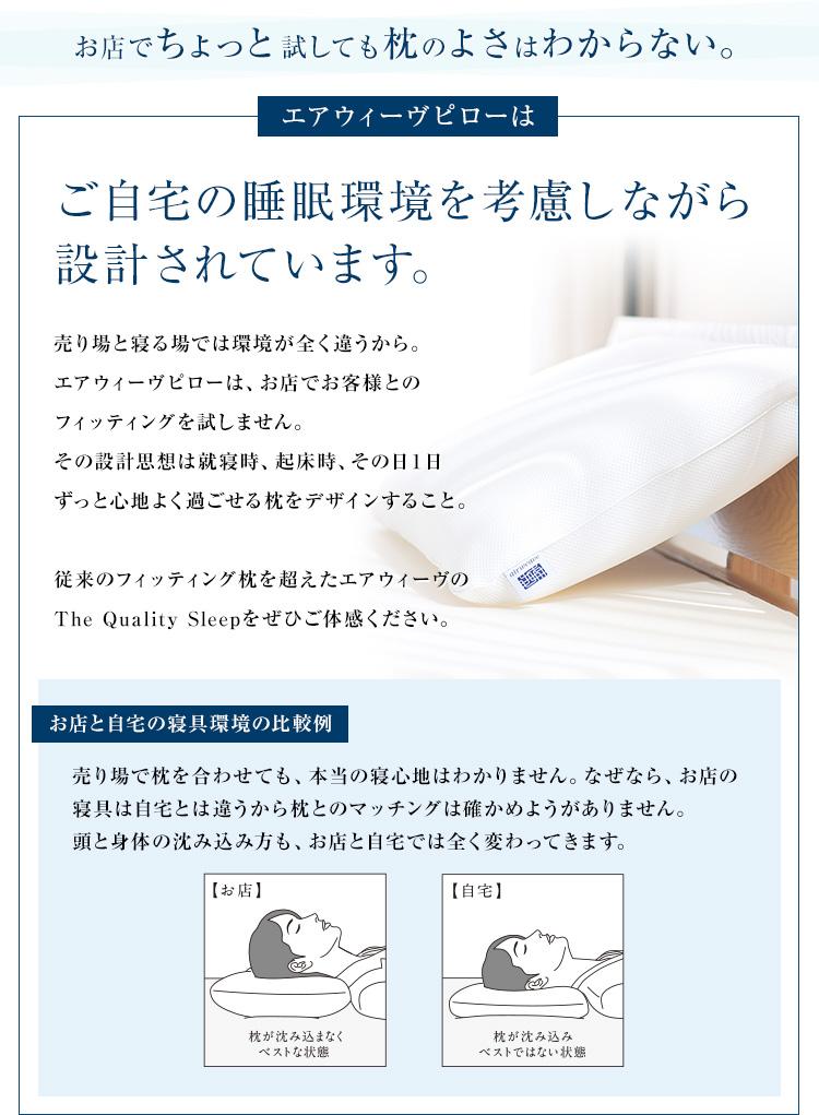 ご自宅の睡眠環境を考慮しながら設計されています