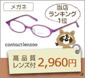 2960円メガネセット