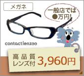 3960円メガネセット