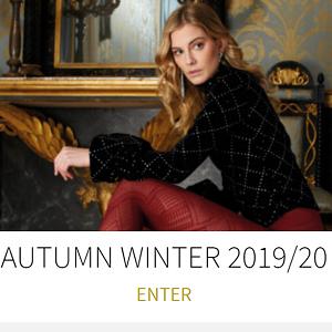 2019-20年秋冬新作柄タイツです