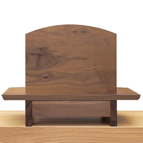 供養壇 天然木 ウォールナット オープンタイプ 仏壇 国産 北海道生産 送料無料 ALTAR アルタ