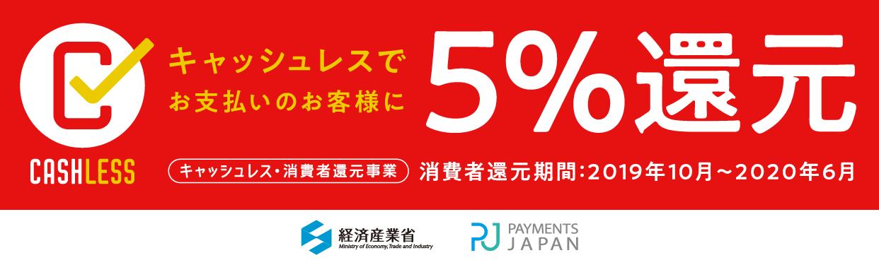 消費税増税5%還元