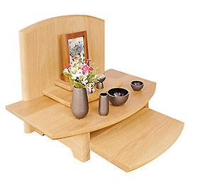 供養壇 オープン仏壇 天然木 ナラ材 北海道 日本製 送料無料 ALTAR アルタ