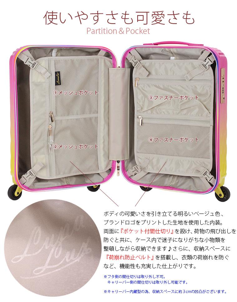 スーツケース内装