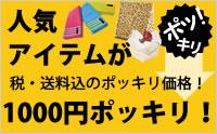 1000円ポッキリ!