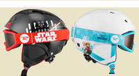 ジュニアヘルメット ゴーグル アナ雪 STAR WARS
