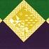 亥の菱飾り 紫