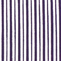 縦縞白地 江戸紫