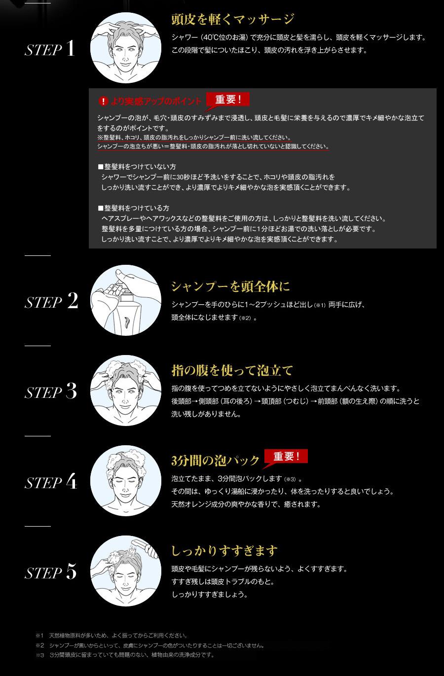 【楽天市場】【楽天ランキング第1位!】男のヘアケア対策に ...