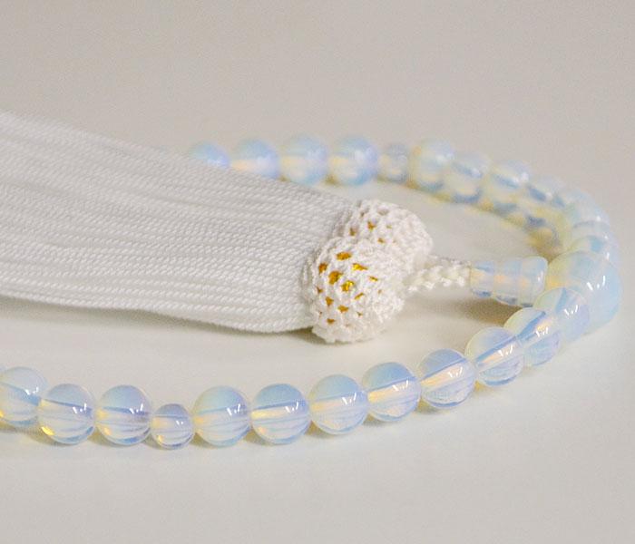 仏具 数珠 念珠 女性用 数珠 ガラス