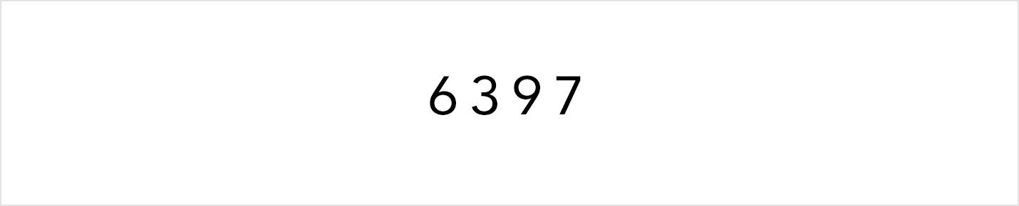 6397(シックススリーナインセブン)