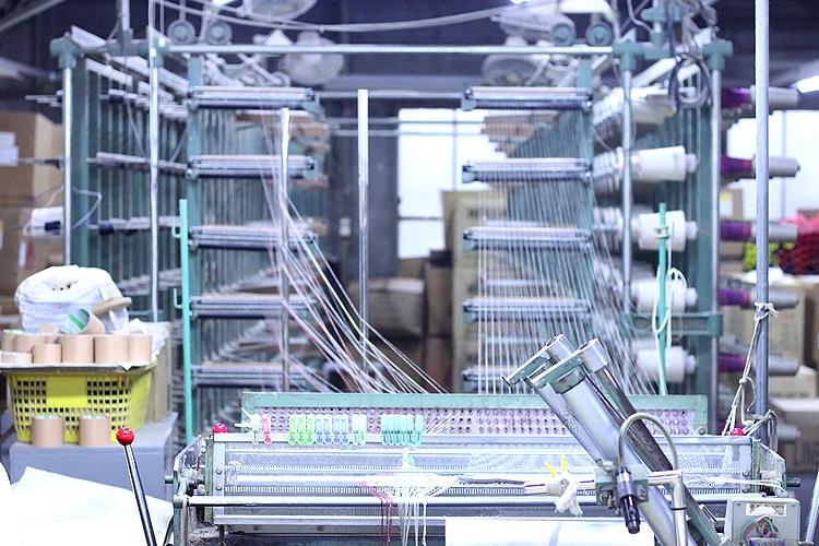 経糸を操る機械
