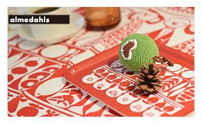 北欧雑貨 クリスマス アルメダールス キッチン雑貨 トレイ