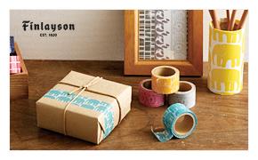 北欧雑貨・ギフトのアルコストア finlayson フィンレイソン マスキングテープ