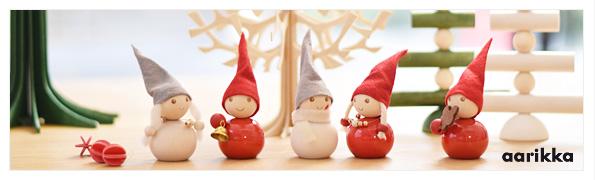 北欧雑貨・ギフトのアルコストア aarikka アアリッカ クリスマス オブジェ 置物