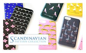 北欧雑貨・ギフトのアルコストア  SPC Scandinavian Pattern Collection スカンジナビアンパターン スマホケース アイフォン iphone 背面ケース 背面カバー スマホ